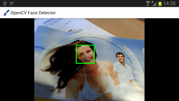 Realtime face detection on Android using OpenCV · Mirko Sertic